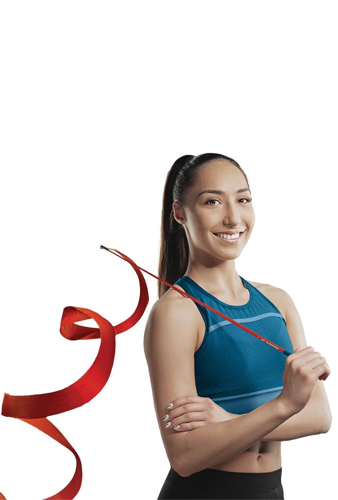 Salome Pazhava Rhythmic Gymnast