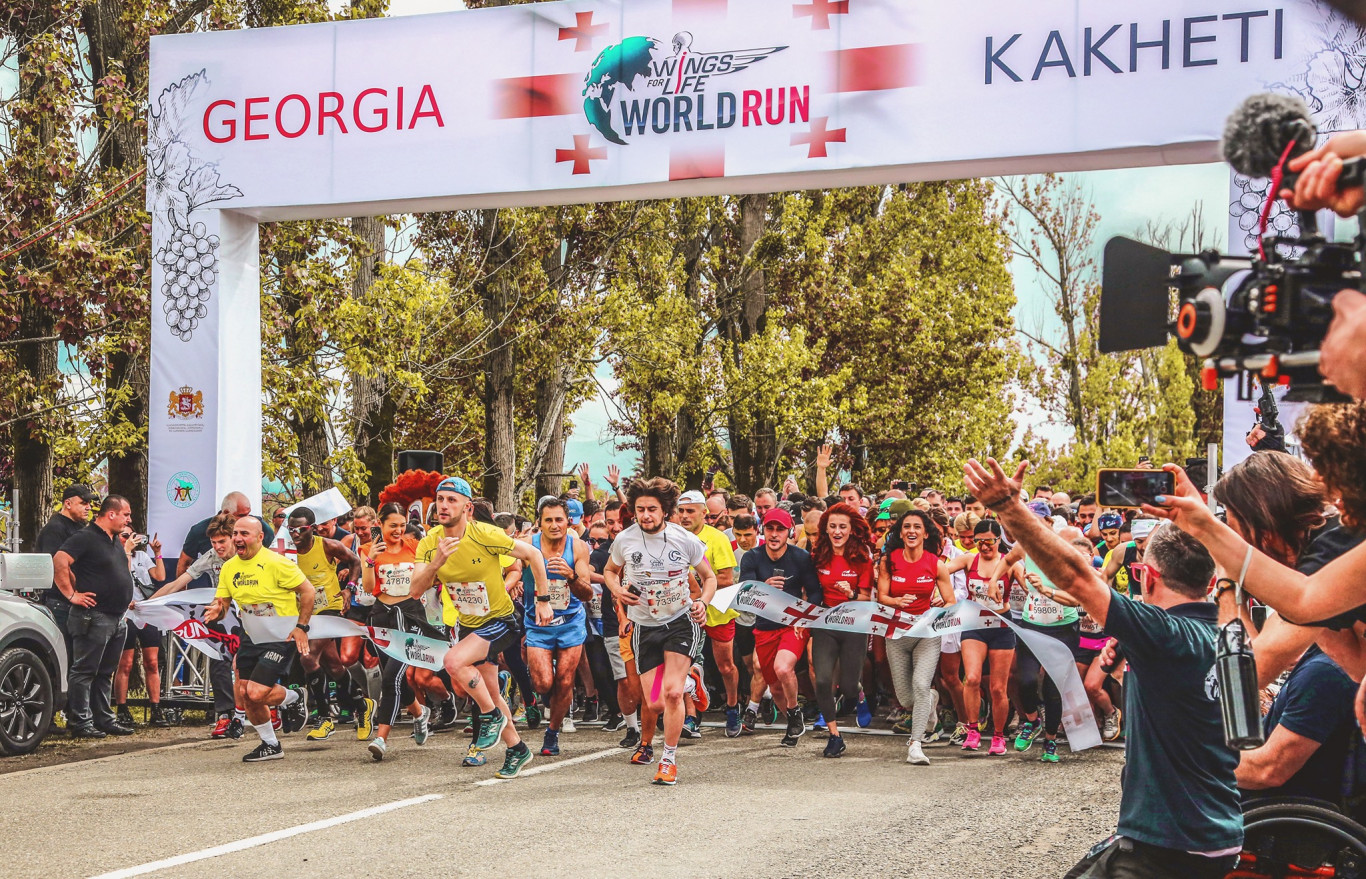 Bakuriani Wings for Life World Run 2019