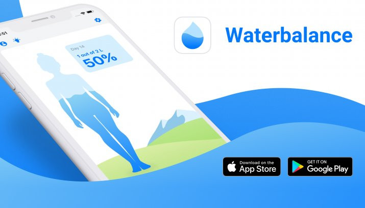 Control your Water Balance with our Application